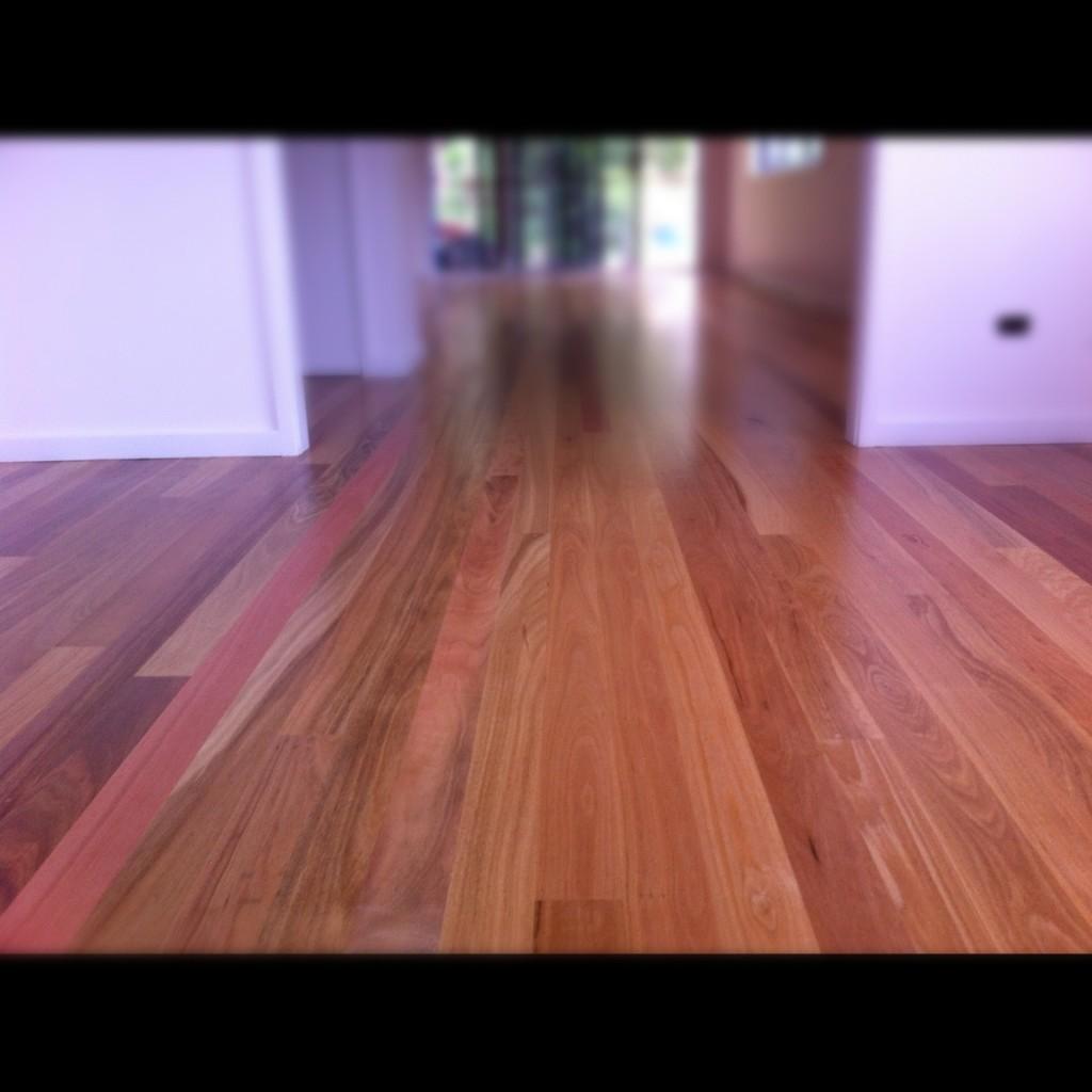 Erskineville floor sanding job