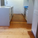 Inner west floor sanding job.